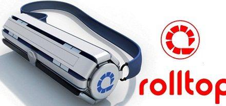 Rolltop 2.0 un interesante concepto de ordenador portátil