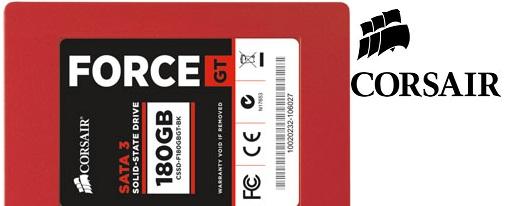 Nuevos SSD's de la serie Force GT de Corsair