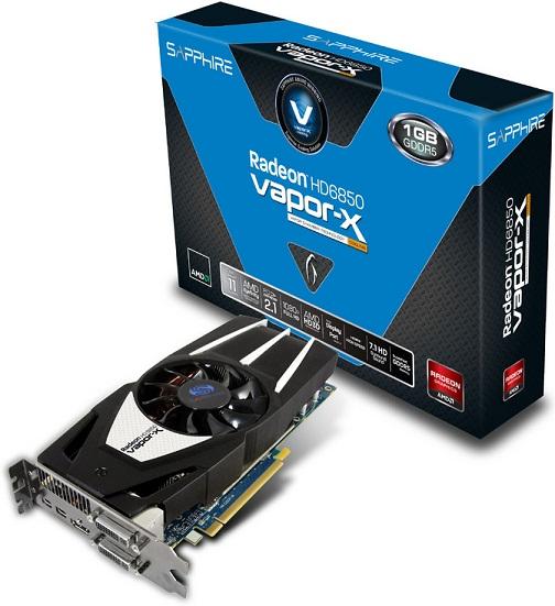 Radeon HD 6850 Vapor-X de Sapphire