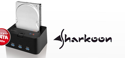 Sharkoon presentó su SATA QuickPort H3