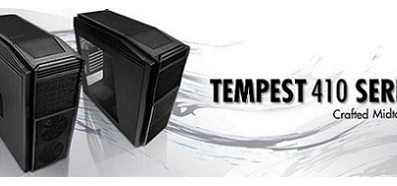 NZXT presentó su case's Tempest 410 & 410 Elite
