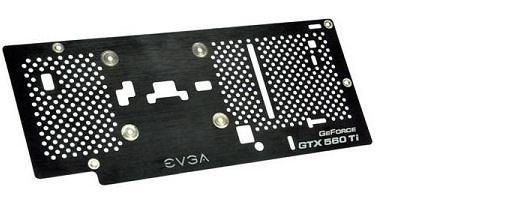 EVGA lanza su backplate para la GeForce GTX 560 Ti