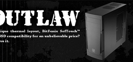 BitFenix liberó su case Mid-Tower Outlaw