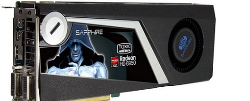 Sapphire Radeon HD 6950 Toxic Edition