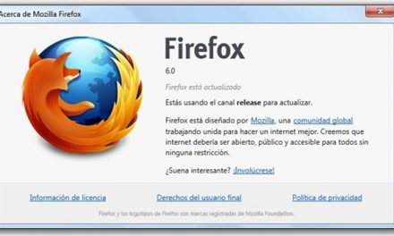 Firefox 6 ya disponible!