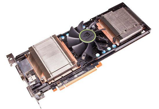 Avistada GeForce GTX 595