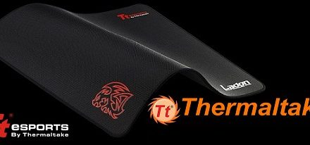 Nuevo mouse pad gaming Ladon de Tt eSport