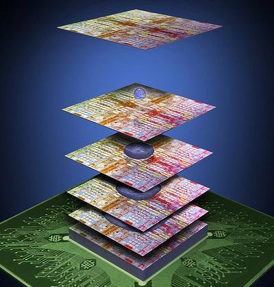 Adhesivos para semiconductores 3D de IBM y 3M
