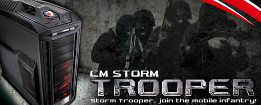 CoolerMaster presentó su case CM Storm Trooper