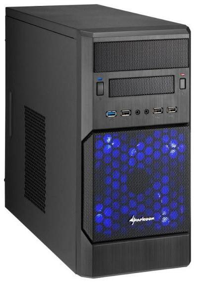 Case Micro-ATX M140 de Sharkoon
