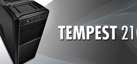 Nuevo case Tempest 210 de NZXT