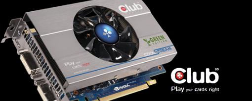 Club 3D presentó su GeForce GTX 560Ti Green Edition