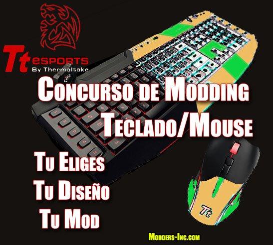 Concurso Modeando y Ganando - Mouse y Teclado de Tt eSPORTS & Thermaltake