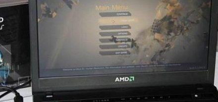 AMD muestra una laptop con una APU Trinity corriendo Deus Ex: Human Revolution