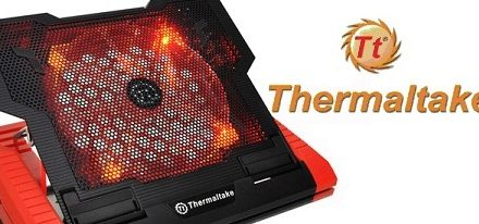 Nuevo notebook cooler Massive 23 GT de Thermaltake