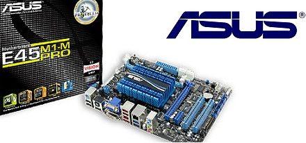Tarjeta madre E45M1-M Pro mini-ITX de Asus con una APU E-450