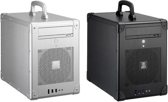 Case's PC-TU200 Silver & Black de Lian Li