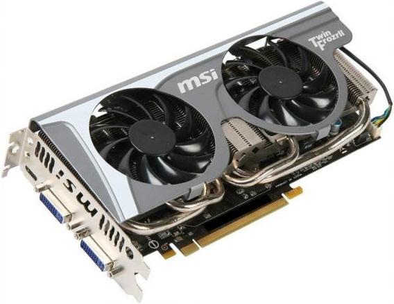 N560GTX-Ti Twin Frozr II 2 GB de MSI