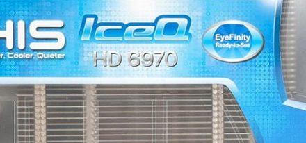 Radeon HD 6970 IceQ Eyefinity RTS de HIS