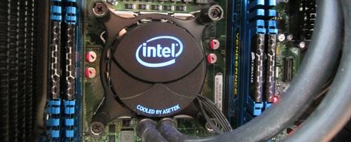 Intel muestra su refrigeración líquida para Sandy Bridge-E