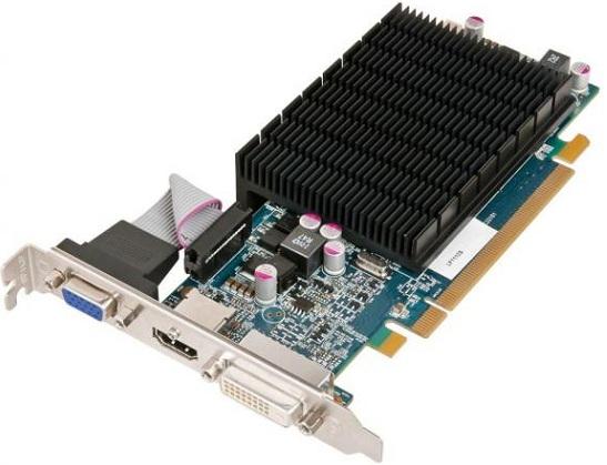 Tarjeta de video Radeon HD 6570 Silence 2GB de HIS