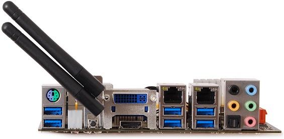 Tarjeta madre A75-ITX WiFi de Zotac