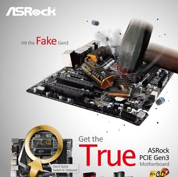 Asrock se une a la controversia PCIe 3.0