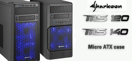 Nuevos case's MS120 y MS140 de Sharkoon