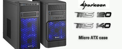Nuevos case's MS120 y MS140 de Sharkoon