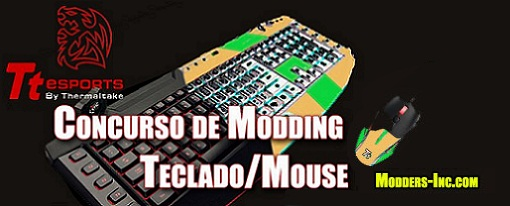 Concurso Modeando y Ganando…. Mouse y Teclado de Tt eSPORTS  & Thermaltake