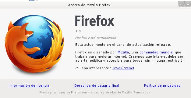 Firefox con mejor memoria