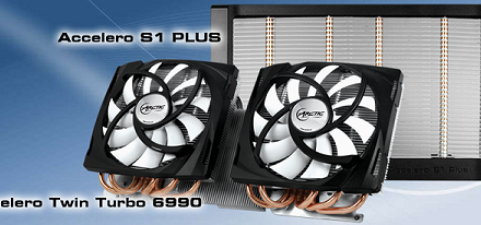 Nuevos Accelero's S1 Plus & Twin Turbo 6990 de Arctic