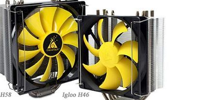 CPU Cooler's H46 & H58 de la serie Igloo de GlacialTech