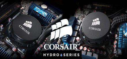 Corsair Anuncia Nuevos CPU Coolers de Refrigeración Liquida