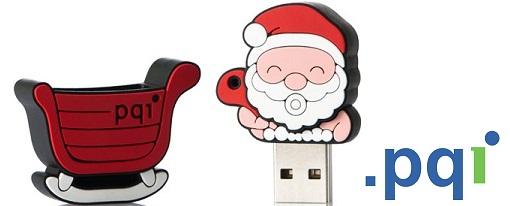 Santa Claus llegó antes de navidad en forma de Flash Drive