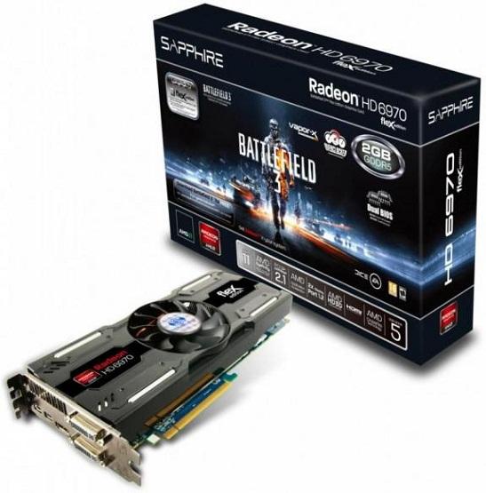 Radeon HD 6970 BF3 Special Edition de Sapphire