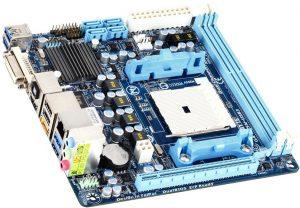 Tarjeta madre A75N-USB3 de Gigabyte