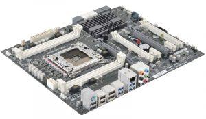 Tarjeta madre X79R-AX Black Deluxe de ECS