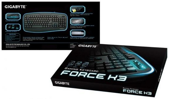 Teclado gaming Force K3 de Gigabyte