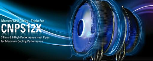 Zalman lanza oficialmente su CPU Cooler CNPS12X