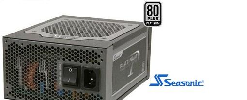 Dos nuevas fuentes certificadas 80Plus Platinum de Seasonic