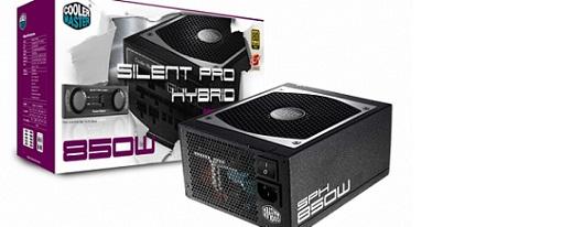 Nueva serie de fuentes Silent Pro Hybrid de Cooler Master