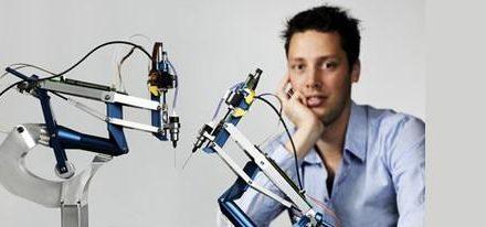 Robot de alta precisión para cirugías oculares