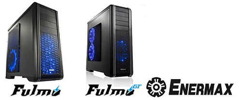 Nuevos case's Fulmo Advance, Basic y GT de Enermax
