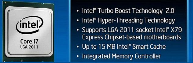 Intel hace oficiales sus procesadores Sandy Bridge-E