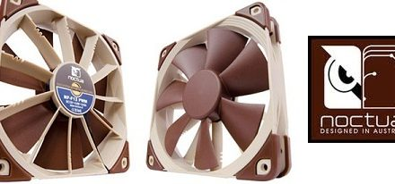 Nuevo ventilador NF-F12 Focused Flow de Noctua