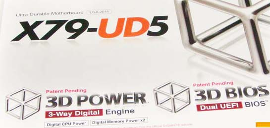 Preview Gigabyte X79  UD5 LGA 2011