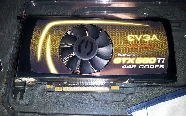 EVGA también muestra su GTX 560 Ti 448 Cores
