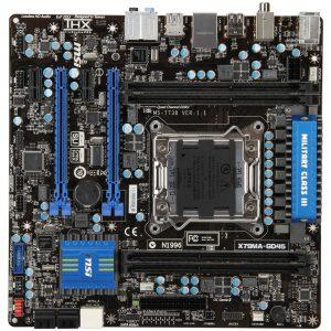 Tarjeta madre X79MA-GD45 de MSI
