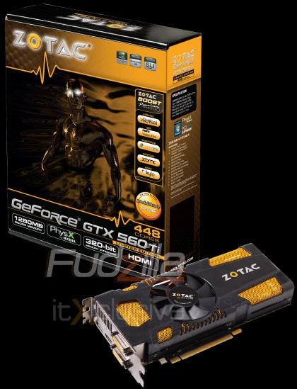 Zotac GTX 560 Ti 448 Cores